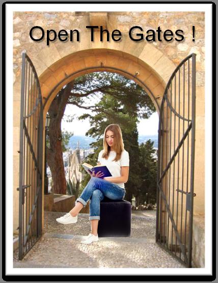 Open gates reader