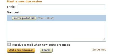 Amazon   Discussion  Start resized 600