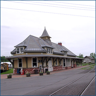 Fort Edward Train Station