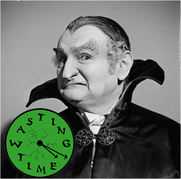 Writers Time Vampire