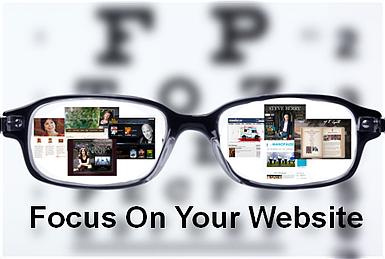 Author Focus Website